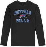 ERICP Men's Majestic Buffalo Bills Charcoal Heart & Soul III Long Sleeve T-shirt XL