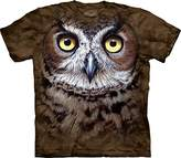 The Mountain Men's Great Horned Owl Head T-Shirt