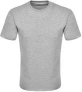Edwin Crew Neck Terry T Shirt Grey