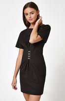 La Hearts Hook & Eye Corset T-Shirt Dress