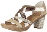Rieker Women's 66581 Wedge Heels Sandals