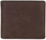 AllSaints Blyth Soft Waxed Leather Wallet