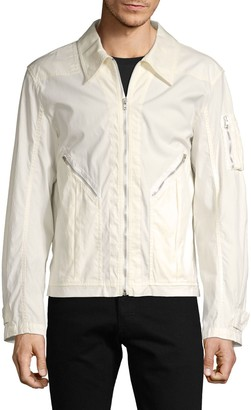 Helmut Lang Full-Zip Cotton Aviator Jacket