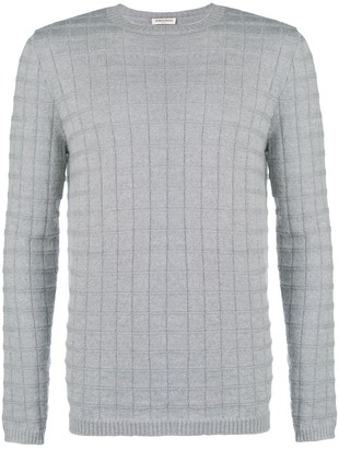 Al Duca D'Aosta 1902 textured crew neck sweater