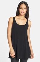Eileen Fisher Petite Women's Scoop Neck Silk Tunic
