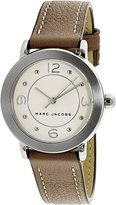 Marc Jacobs Women's Riley MJ1472 Leather Quartz Fashion Watch