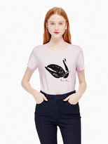Kate Spade Swan around tee