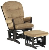Dutailier Ultramotion-Modern Glider - Glide/Lock/Recline - with Ottoman