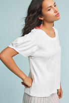 Anthropologie Pleated Sleeve Tee