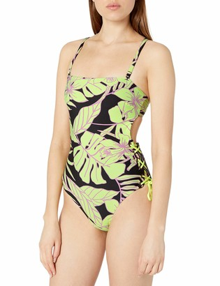 Maaji Women's Arista with Lace Up Sides One Piece Swimsuit