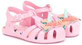 Mini Melissa Aranha Fabula sandals - kids - Leather/PVC/rubber - 20