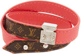 Louis Vuitton Red Monogram Lockit Bracelet