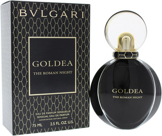 Bulgari Women's Goldea The Roman Night 2.5Oz Sensual Eau De Parfum Spray