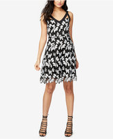 Rachel Roy Floral Lace Fit & Flare Dress