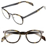 Eyebobs Men's Spank Me 45Mm Reading Glasses - Black Metal With Tortoise