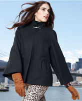 Betsey Johnson Coat, Bell-Sleeve Trapeze Mod