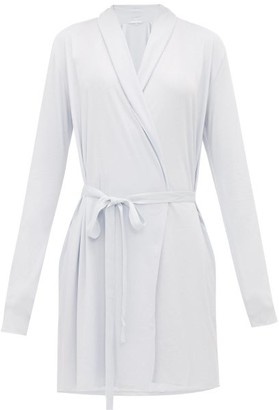 Skin Basic Pima-cotton Robe - Light Blue