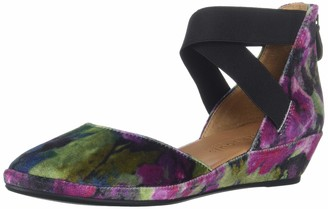 Gentle Souls by Kenneth Cole Women's Noa Wedge with Anklestrap Platform
