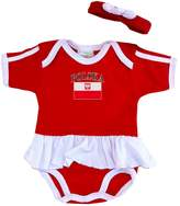 PAM baby girl poland ruffle bodysuit
