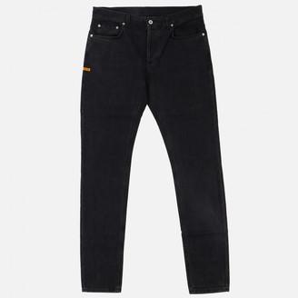 Heron Preston Black Cotton Jeans