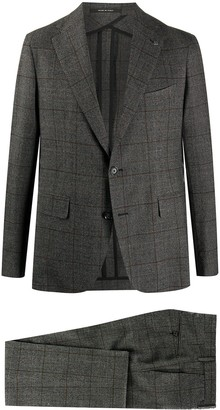 Tagliatore Single-Breasted Virgin Wool Suit