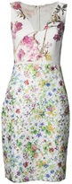 Giambattista Valli sleeveless embroidered slim dress