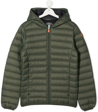 Save The Duck Kids Hooded Puffer Coat