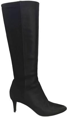 Jimmy Choo Black Leather Boots