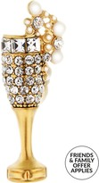 Marc Jacobs ChampagneFlute Pin