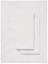 Belle Epoque Biaritz Cotton Hemstitch Percale Sheet Set