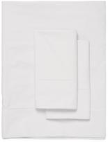 Belle Epoque Biaritz Cotton Hemstitch Percale Sheet Set