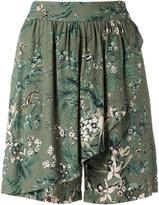 Steffen Schraut floral print shorts - women - Viscose - 34
