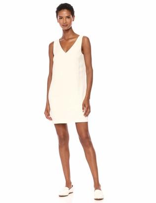 Theory Women's Sleeveless V Neck Shift Dress