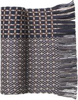Johnston & Murphy Striped Wool Knit Scarves