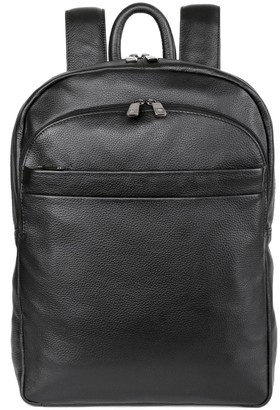 Karla Hanson RFID-Blocking Roger Leather Backpack