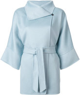Max Mara three-quarter sleeve coat - women - Virgin Wool - 38