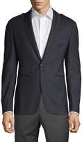John Varvatos Star U.S.A. Classic Shawl Collar Epaulette Jacket