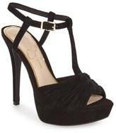 Jessica Simpson 'Bassie' T-Strap Platform Sandal (Women)