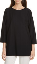 Thumbnail for your product : Eileen Fisher Bracelet Sleeve Tunic