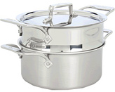 All-Clad d5 Brushed 3 Qt. Casserole With Steamer