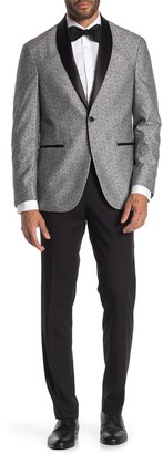 Kenneth Cole Reaction Shawl Collar Slim Fit Tuxedo