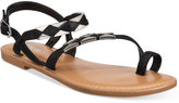 Bar III Vadya Hardware Sandals, Only at Macy's
