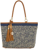Giani Bernini Woven Extra-Large Beach Tote, Created for Macy's