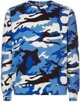 Sandro Camouflage Print Sweater
