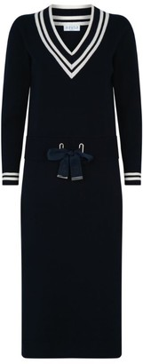 Claudie Pierlot Knitted Midi Dress