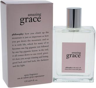 philosophy Women's Amazing Grace 4Oz Eau De Toilette Spray