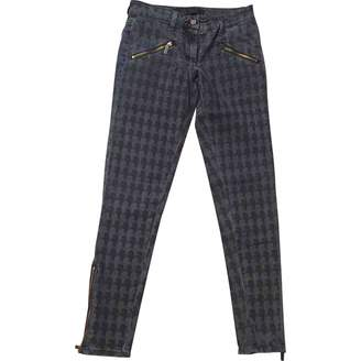 Karl Lagerfeld Paris Anthracite Cotton Jeans for Women