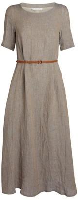 Fabiana Filippi Belted Midi Dress