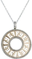 Effy Jewelry 14K White & Rose Gold Diamond EFFY Pendant, .58 TCW