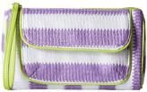 Vera Bradley Striped Wristlet